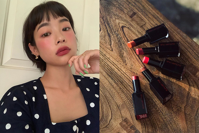 Matte Lipsticks Makeup Tips shu uemura Rouge Unlimited