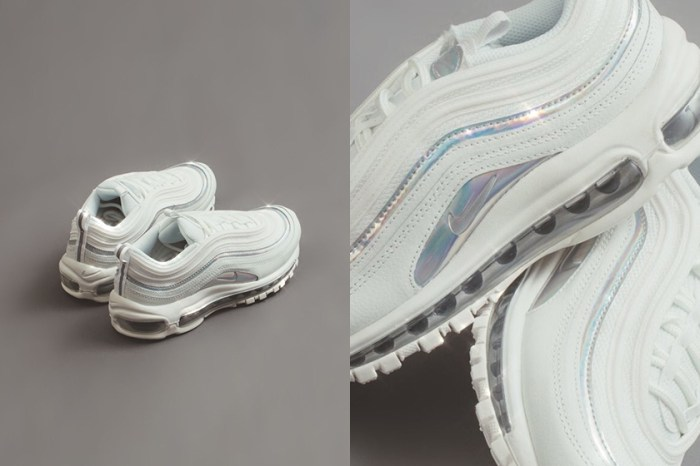 純白之中又有迷人細節:讓 Nike Air Max 97 雪白鏡面配色襯托你的優雅氣質!