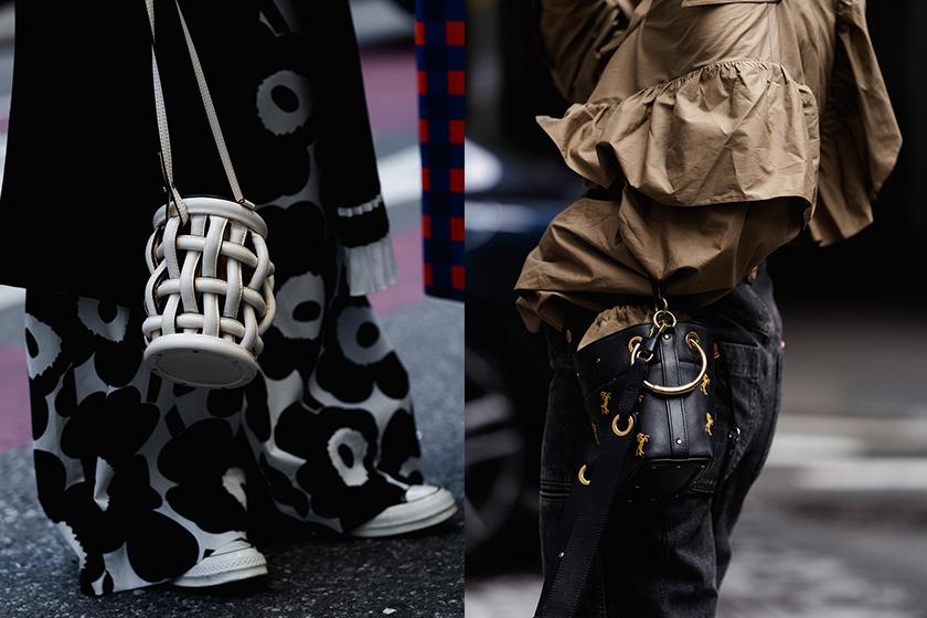 NYFW ss20 streetsnaps Handbag style trend 2019