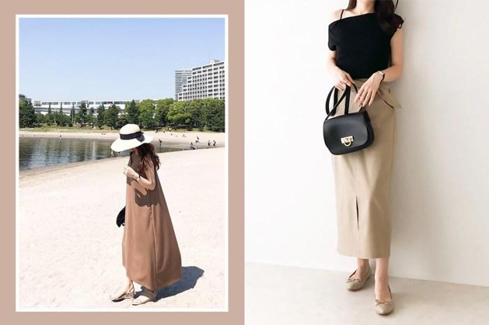 想找裙裝搭配看她的 Instagram 就行了:這位日本女生完美演繹了嬌小身材的長裙造型!