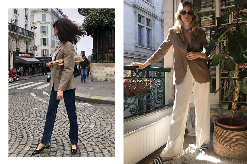 French Girl blazer Outfit Inspiration