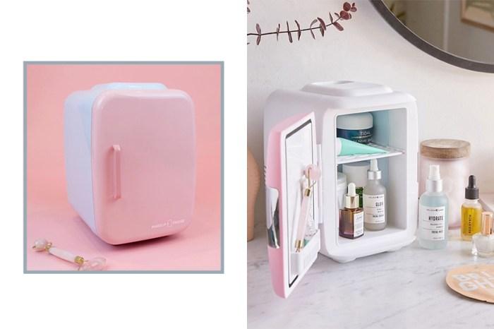梳妝台上的療癒小物:護膚品專屬的迷你冰箱,這幾款是保養愛好者必備!
