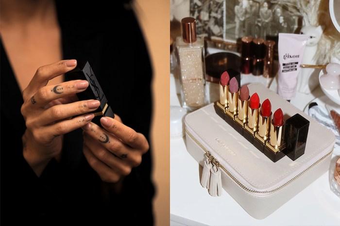 設計靈感來自經典手袋:低調中帶有奢華感的 YSL x Zoë Kravitz 限量訂製版唇彩登場!