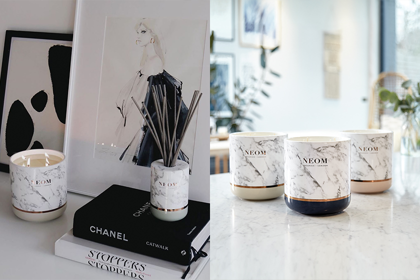 NEOM Marble Fragrance Scented Candle