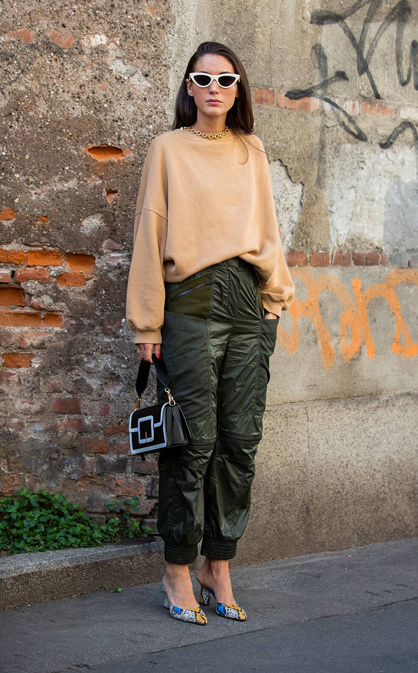 Milan Fashion Week SS20 Street Snap Style Idea