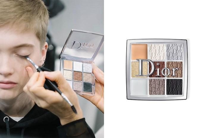 Dior 推出這款眼線、打底、眼妝一次完成的萬用眼影盤,成為化妝師的秘密武器!