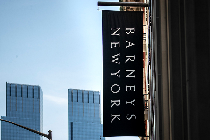 Barneys New York bankruptcy statement