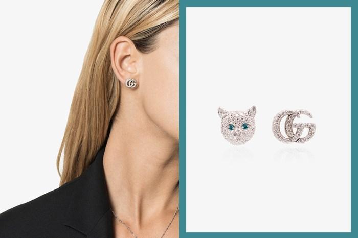 可愛設計引熱議:Gucci 全新推出貓咪耳環,不過售價卻讓人以為看錯……