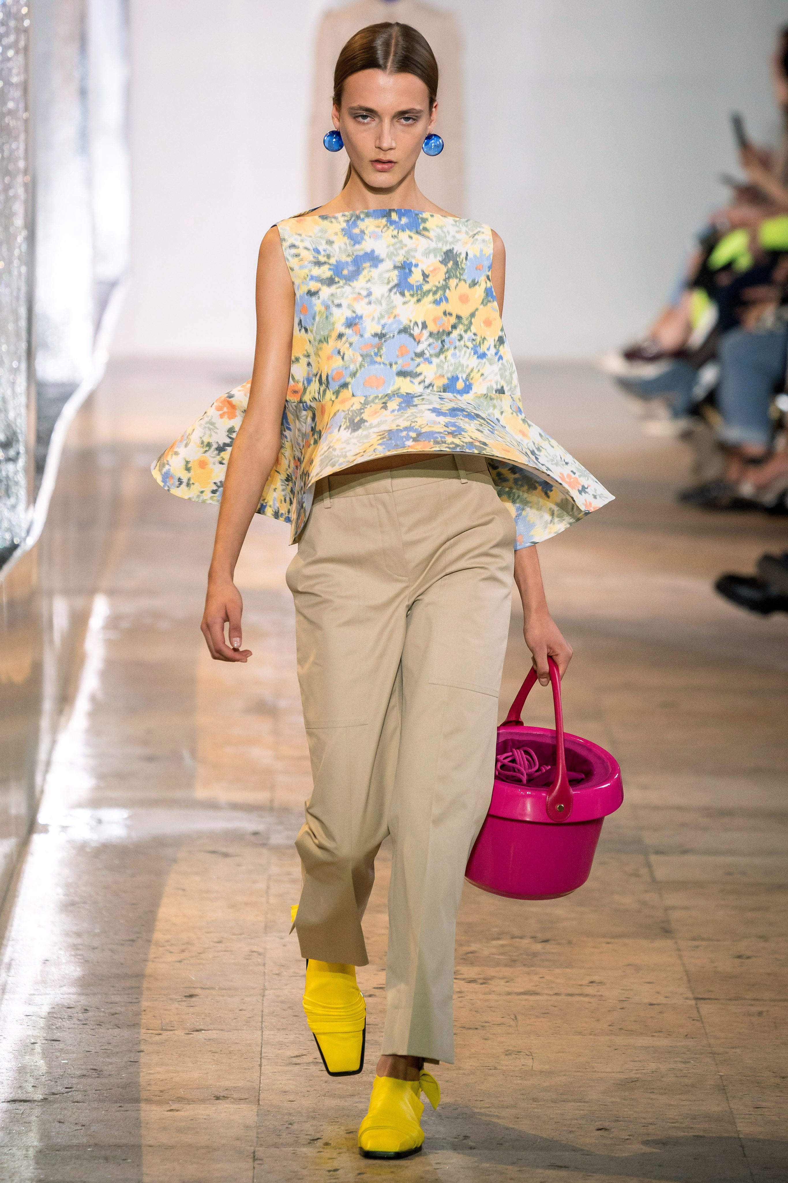 Nina ricci bucket hat spring summer 2020 runway