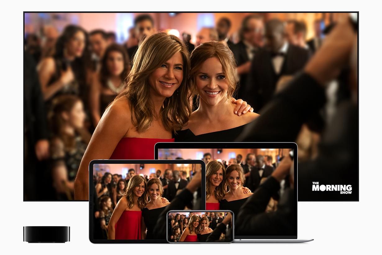 Apple TV+ launch in Nov