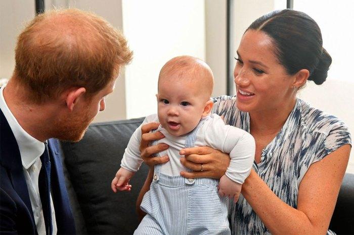 回看梅根與兒子南非之旅的互動,意外發現了 Archie 的可愛乳名!