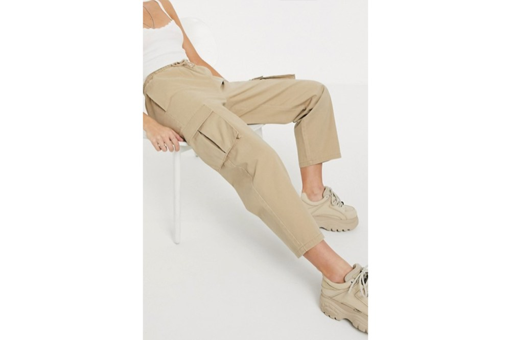 ASOS DESIGN Pull on Utility Combat Trouser