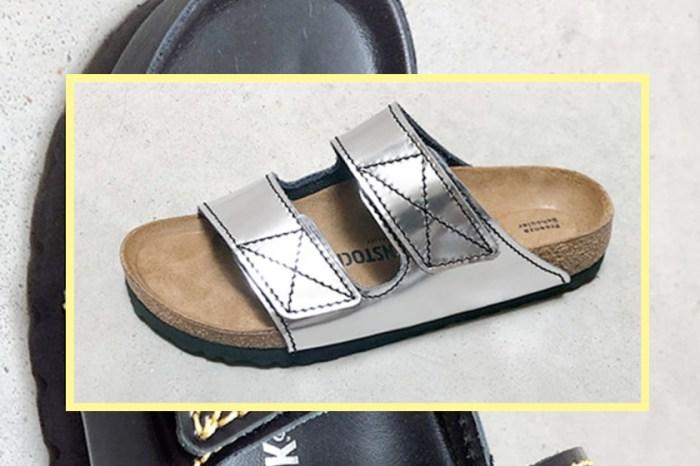 Birkenstock x Proenza Schouler 推出聯乘系列,將經典的涼鞋換上了「魔術貼」