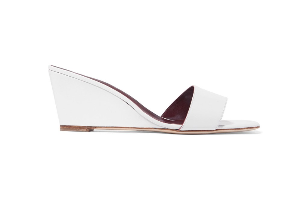 Billie Leather Wedge Sandals