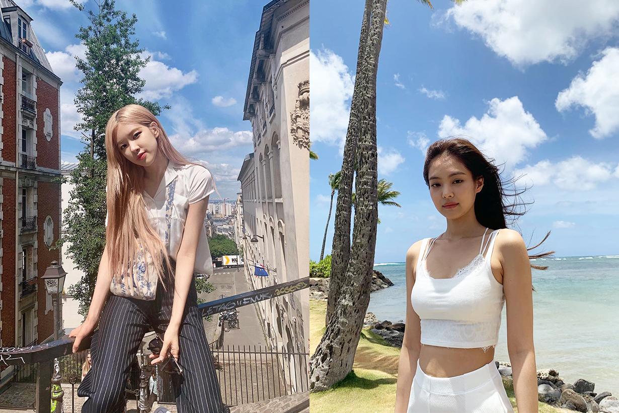 BLACKPINK Jennie Rosé Lisa Jisoo Elle Korea Dazed Korea magazine cover editorial shooting k pop korean idols celebrities singers girl bands
