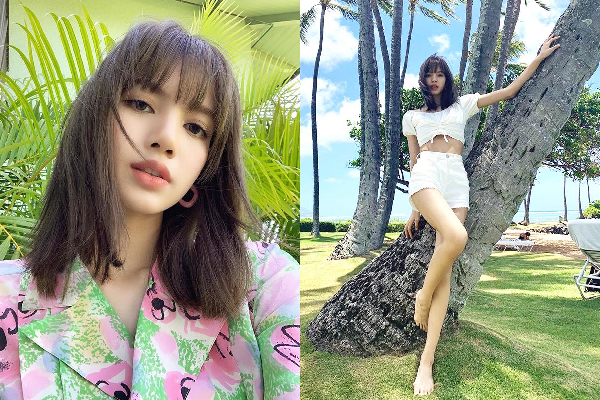 BLACKPINK Lisa Jennie Jisoo Rosè stand up paddling SUP keep fit lose weight celebrities fitness tips k pop korean idols celebrities singers girl bands