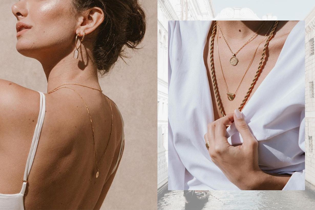 Indie Brand Bonito's Da Vinci Chain Necklace