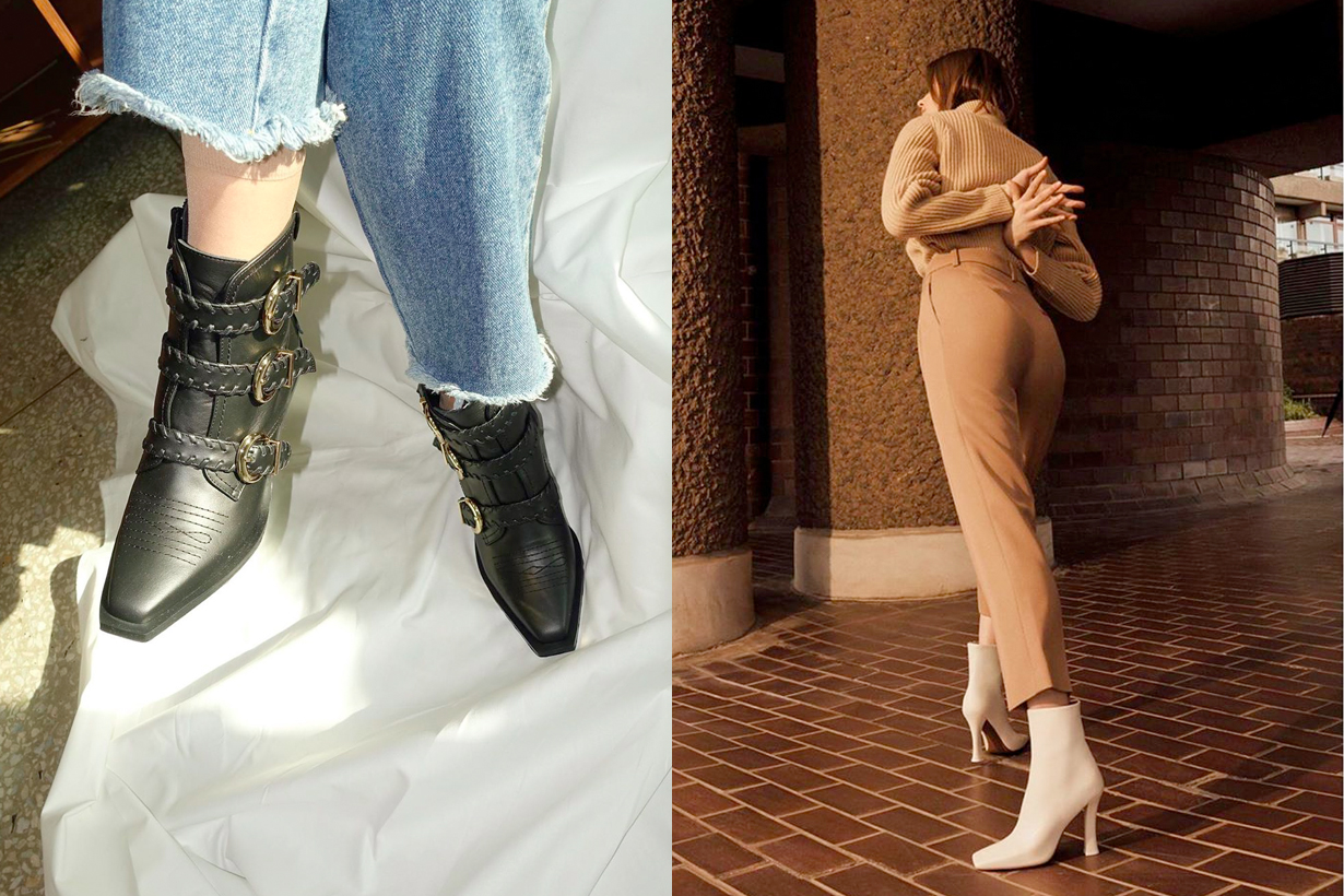 autumn ankle boots recommand brand 2019