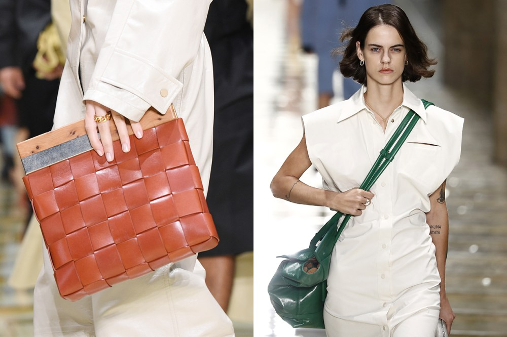 Bottega Veneta By Daniel Lee Runway Details Handbag