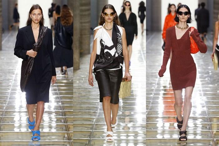#MFW:Bottega Veneta SS20 彷如隨意、獨立的女性,斜挎巨型手袋成焦點!