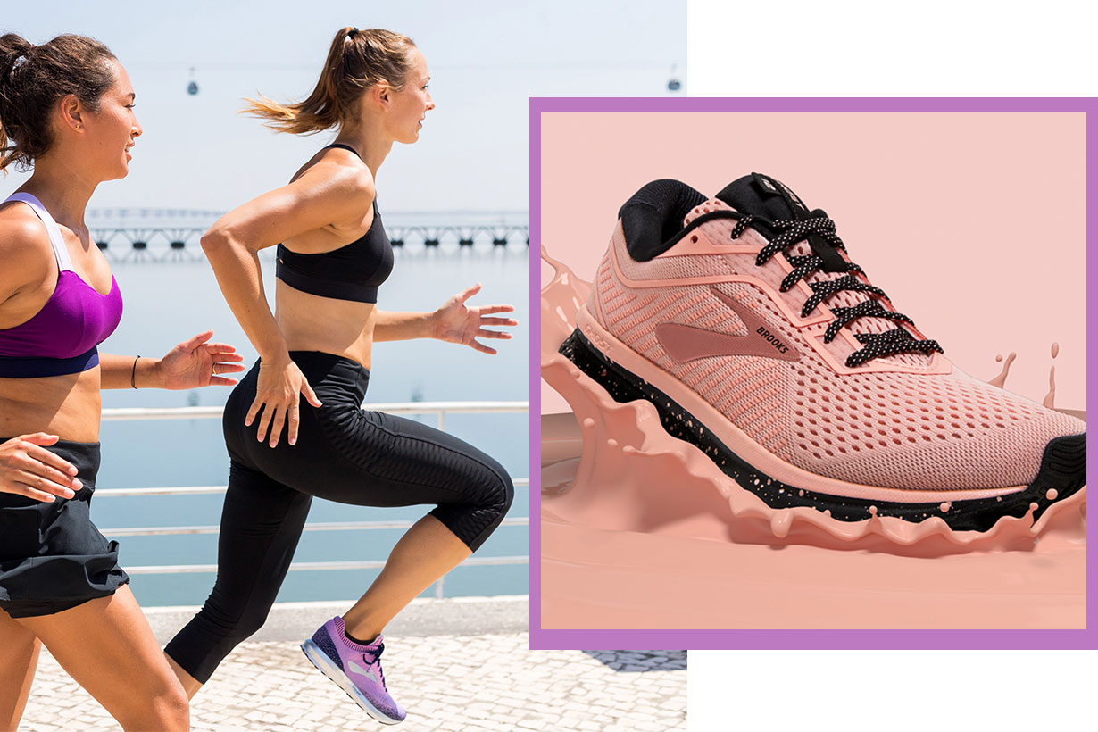 Brooks running shoes trainer