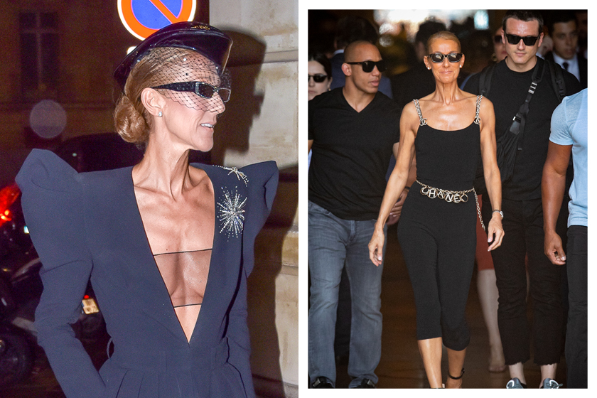 celine dion why thin weight loss confident respond