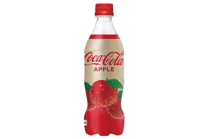 coca cola japan apple flavored coke