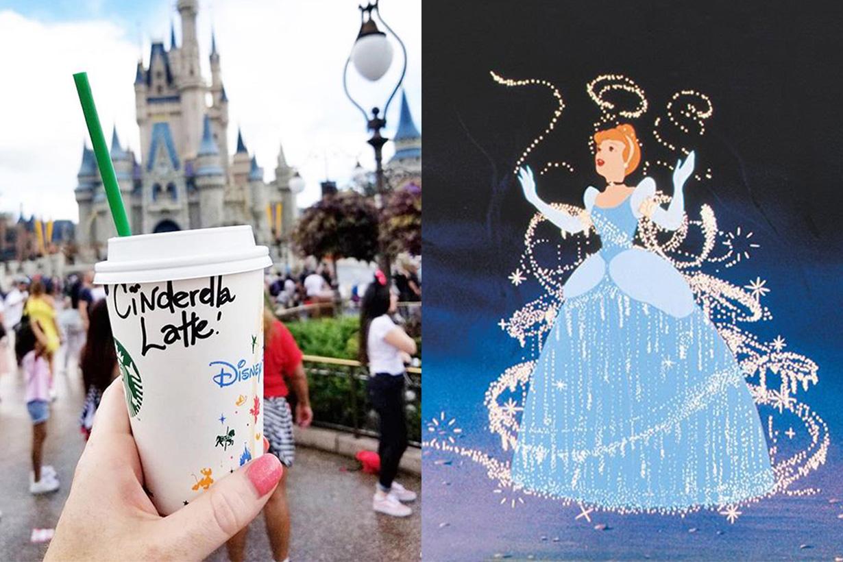Starbucks  Secret Menu Cinderella Latte