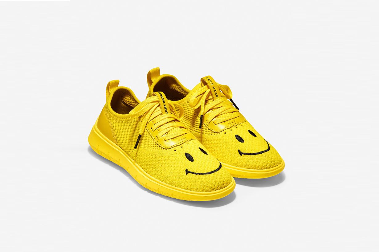 chinatown market Cole haan generation zerogrand smiley originals sneaker collection