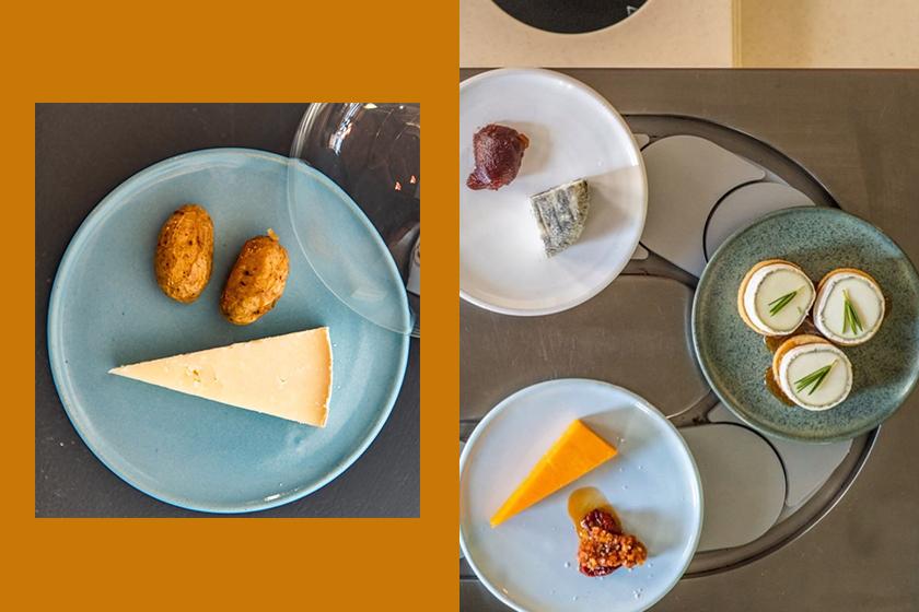 Pick & Cheese cheese conveyor-belt restaurant in London