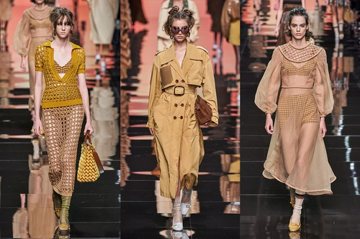 #MFW:在 Karl Lagerfeld 離開後,Fendi 以浪漫柔嫩色彩譜出優雅春季詩篇!