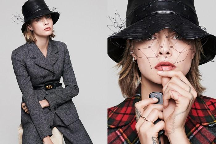 Dior 最新 2019 秋冬系列硬照,把 Cara Delevingne 拍得很美!