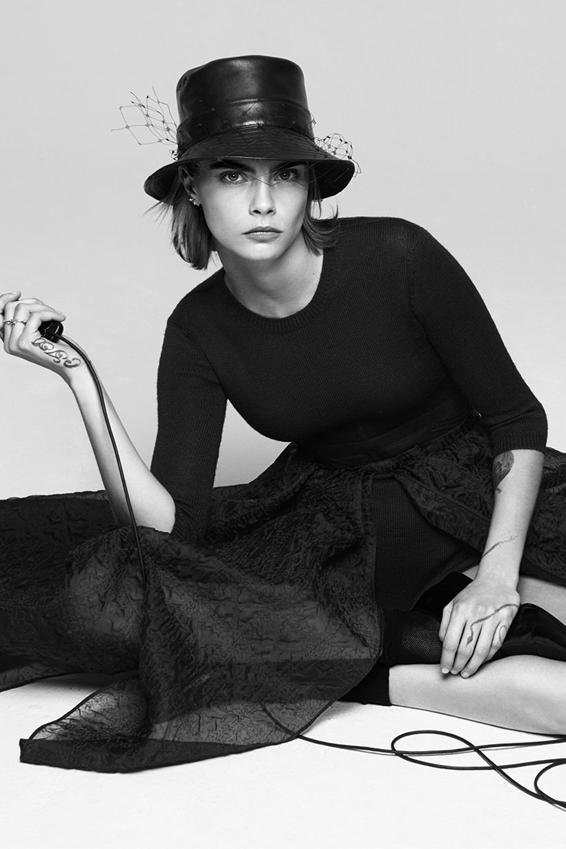Cara Delevingne 2019 FW Dior Campaign
