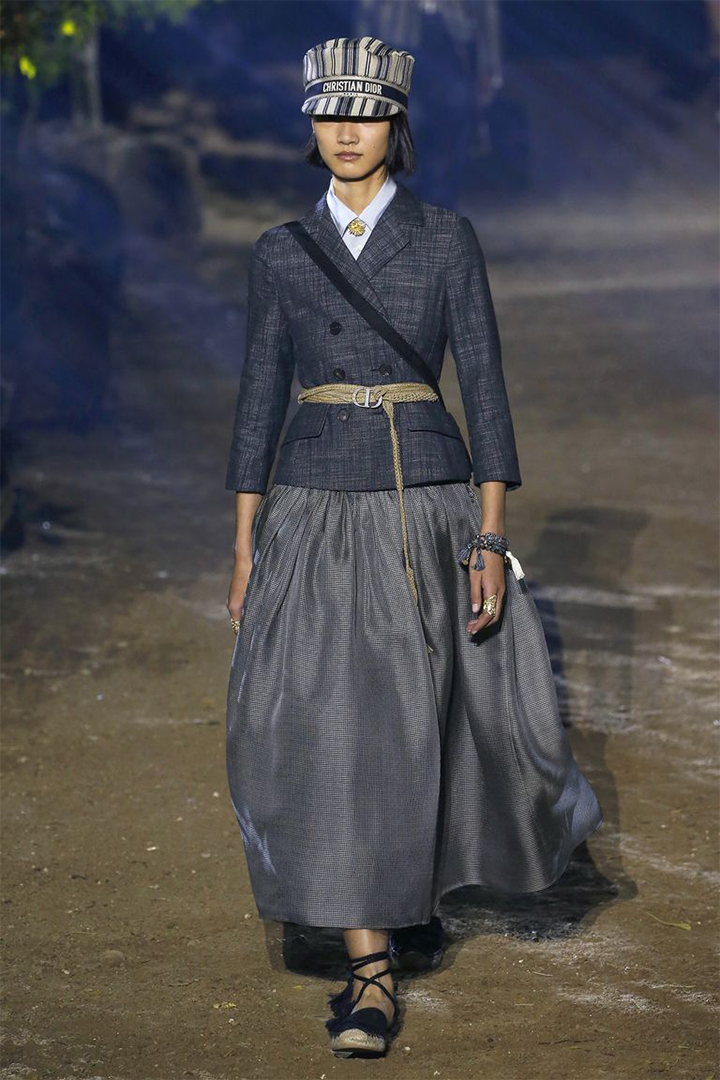 Dior's Spring 2020 Runway Show Paris Fashion Week