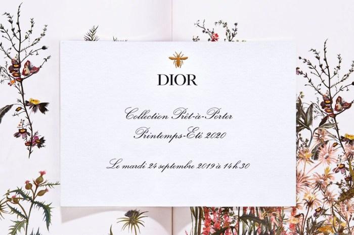 #PFW:一場園林內的時裝饗宴,Dior 春夏大秀同步直播!
