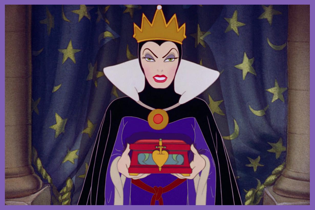 Disneyland Evil Queen Snow White favourite character villain popular Mickey Minnie Princesses travel fun