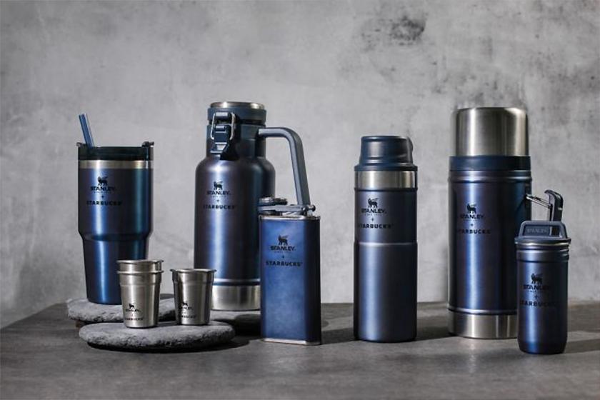 Starbucksx Stanley dark blue collection