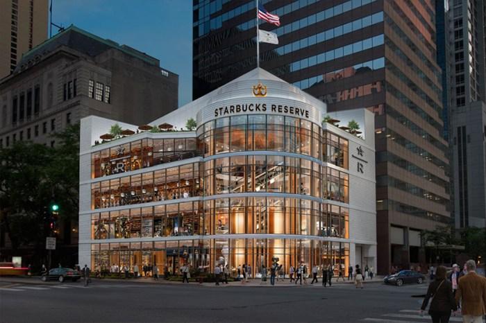 最新打卡點:Starbucks 全球最大旗艦店,即將座落於芝加哥繁華的購物大道上!