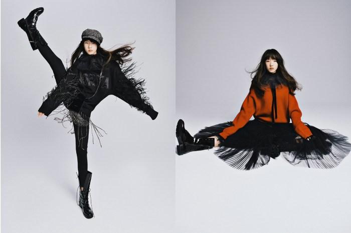 小 S 女兒為服飾品牌拍攝廣告照,充滿靈氣的功架不輸專業名模!