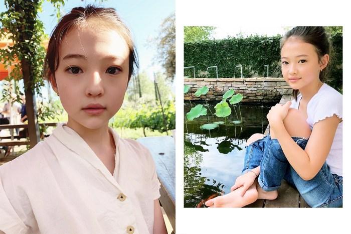 11 歲就用 La Mer 面霜!「最美童模」Ella Gross 分享護膚貼士!
