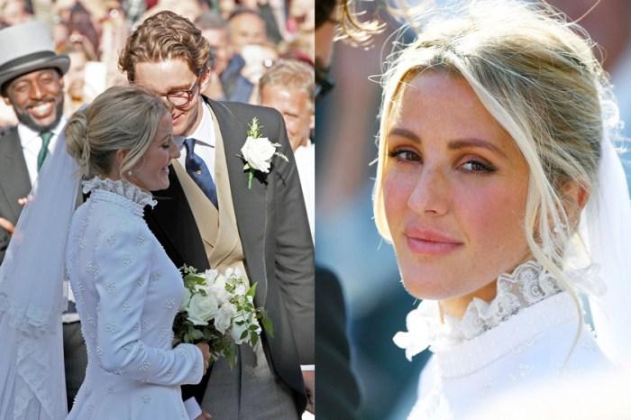 永不退流行的經典設計,來看看 Chloé 花費 640 個小時為 Ellie Goulding 量身打造的婚紗!
