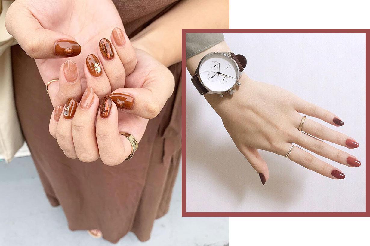 autumnvmanicure nail art inspiration