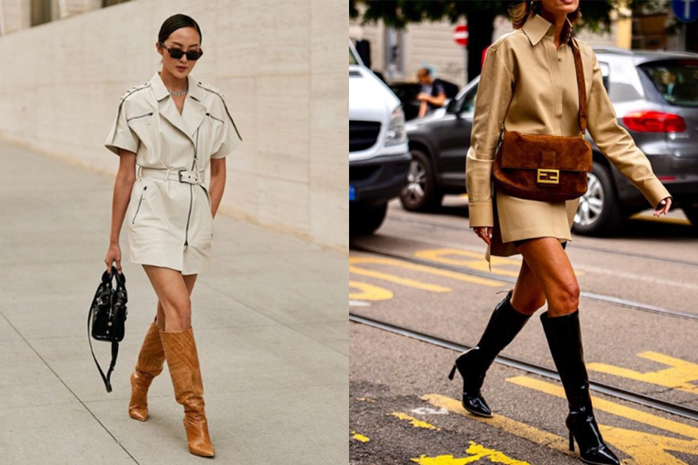 Knee-high boots street style