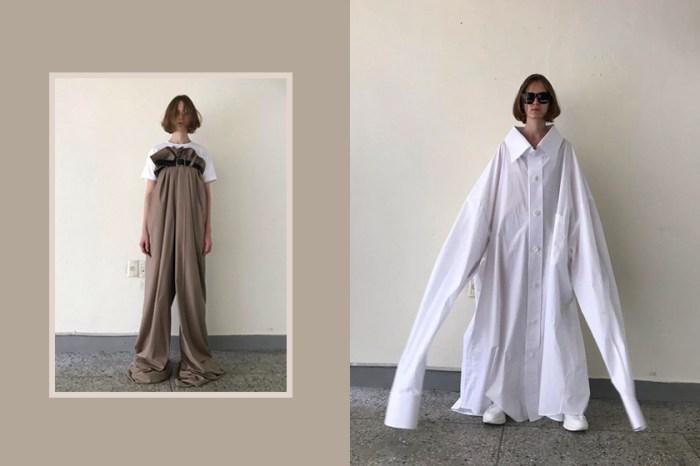 法式浪漫靈魂:Kimhekim 設計出一件件巨大襯衫西裝,即將登上巴黎時裝周!