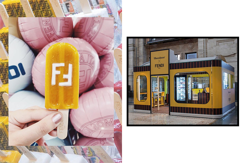 fendi steccolecco popsicle pop up