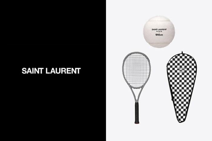 華麗出擊:Saint Laurent 推出奢華運動系列,時髦設計將會帶起一股熱潮?