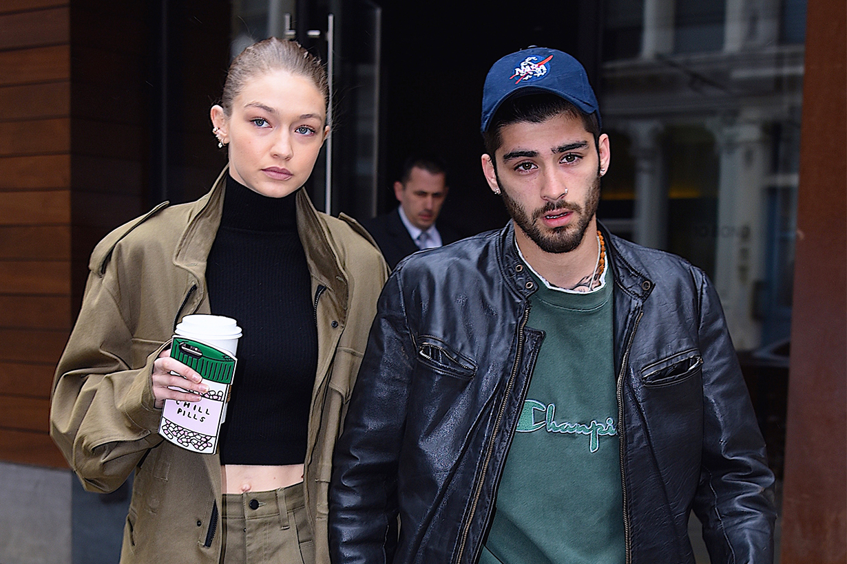 Gigi Hadid  Zayn Malik  Ex boyfriend photo sued copyright infringement photographer Robert O'Neil instagram story
