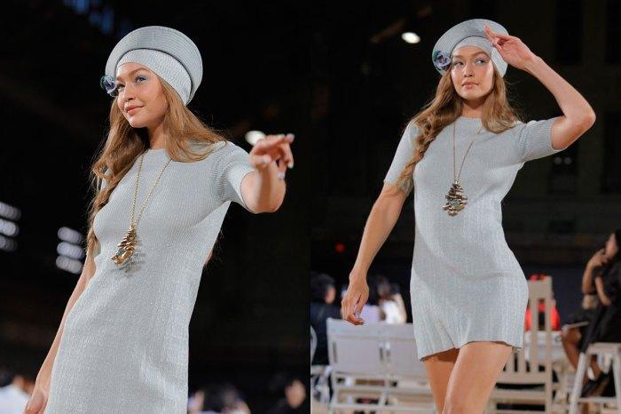 #NYFW:Gigi Hadid 光著腳走天橋?一場小插曲更顯她的專業!