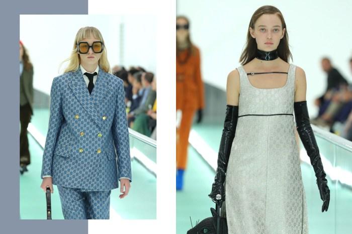 #MFW:追求平凡、真實的妝容趨勢! Gucci 以潤唇膏、Bobby Pin 髮夾展現模特兒最美的樣貌
