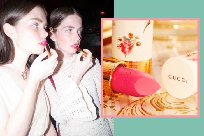 台灣販售店點、時間公開:終於等到 Gucci Beauty 58 支超仙唇膏一口氣上架!